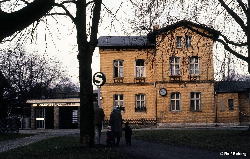 Bild: Zug in Wannsee 2