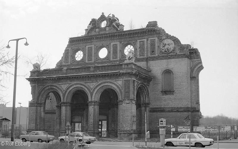 Bild: Anhalter Bahnhof 1