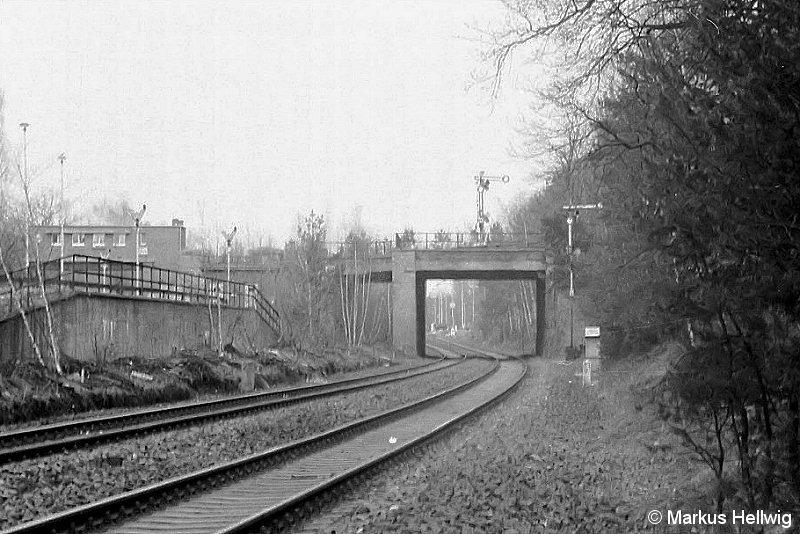 Bild: Überführung der Friedhofsbahn