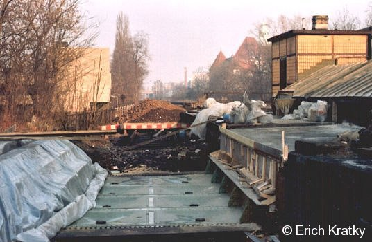 Bauarbeiten in Steglitz