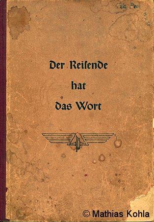 Titelblatt des Gästebuches