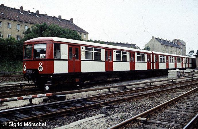 277 393/4 mit dem im Jahre 1984 zu testenden Farbkonzept.