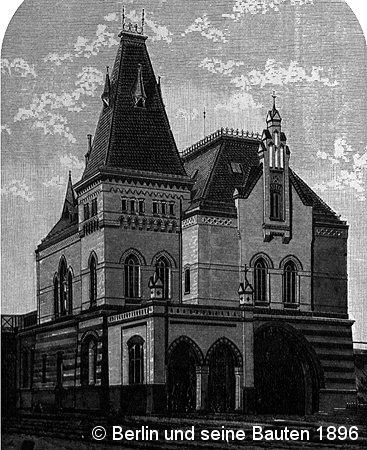 Bild: Empfangsgebäude Beusselstraße