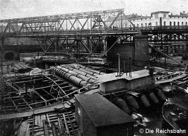 Bild: Baustelle am Landwehrkanal