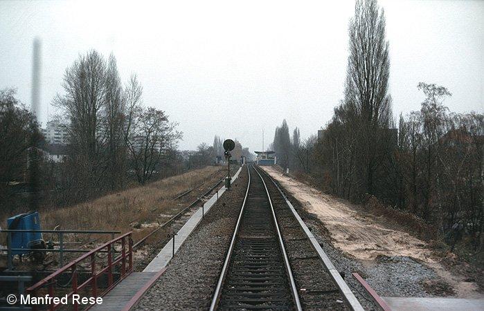 Bild: zwischen Waidmannslust und Wittenau (Nordbahn)