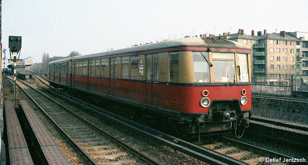 Einfahrt Jungfernheide 1979