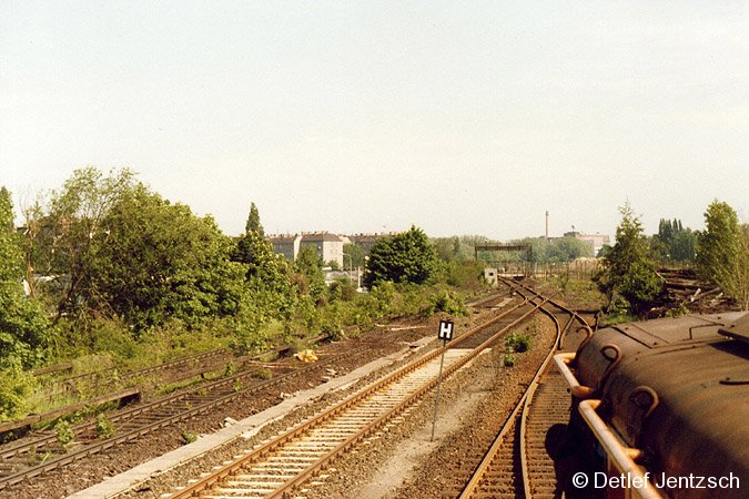 Bild: Grenze und Ringbahn