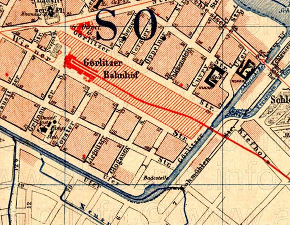 Stadtplan 1893