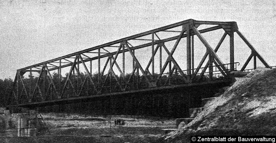 Bild: Teltowkanalbrücke 1913