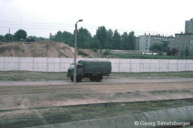 Bild: Grenzanlagen 1984