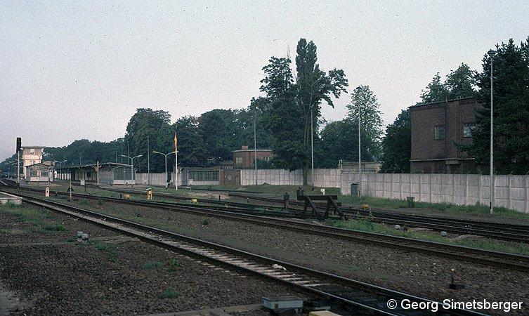 Bild: Grenzanlagen Griebnitzsee