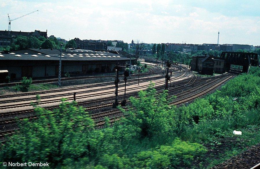 Bild: Blick von der Ringbahn