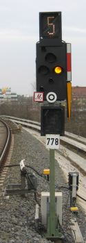 Bild: Signal mit Zs 3 und Zs 3v