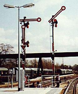 Bild: Formsignale in Potsdam
