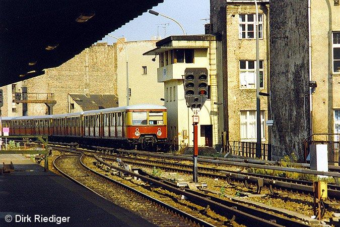 Bild: westliches Gleisfeld August 1992