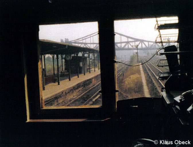 Bild: Blick zur Millionenbrücke