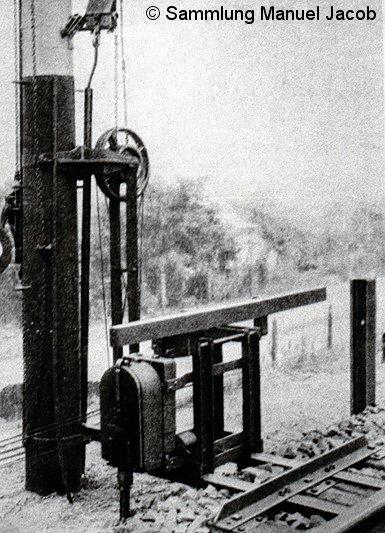Bild: Prototyp mechanische Fahrsperre