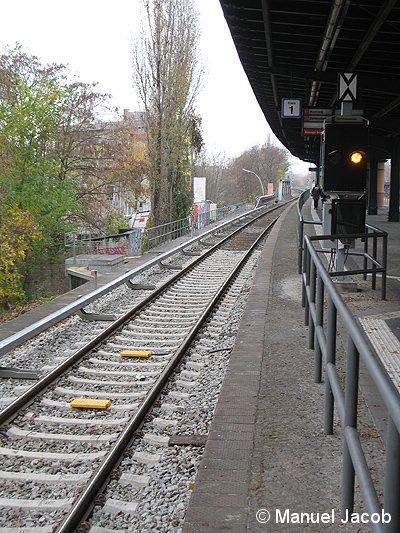 Bild: Vorsignalbalisen Bundesplatz